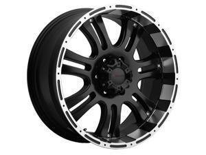 Forza FO306 20x9 8x165.1 +12mm Black/Machined Wheel Rim