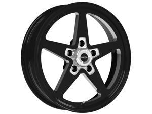 "Vision 571 Sport Star 15x7 5x4.75"" +0mm Black Wheel Rim"