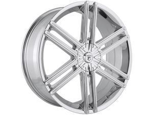 Pinnacle P66 Grotto 22x8 5x114.3/5x127 +40mm Chrome Wheel Rim
