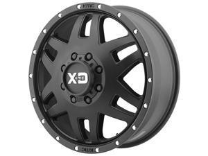 XD Series XD130 Machete Dually 20x7.5 8x170 +142mm Satin Black Wheel Rim