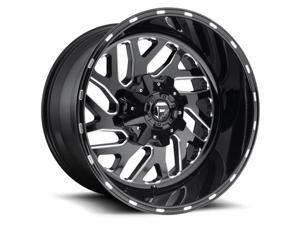 Fuel D581 Triton 20x12 5x114.3/5x127 -43mm Black/Milled Wheel Rim
