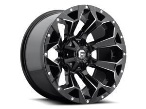 Fuel D576 Assault 20x9 8x180 +1mm Black/Milled Wheel Rim
