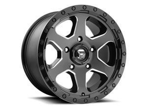 Fuel D590 Ripper 17x9 6x139.7 +1mm Black/Milled Wheel Rim