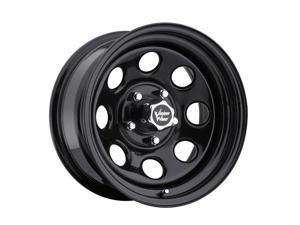 """Vision 85 Soft 8 16x8 6x139.7/6x5.5"""" -12mm Gloss Black Wheel Rim"""
