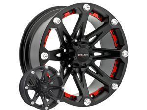 Ballistic 814 Jester 16x8 6x139.7 -6mm Flat Black Wheel Rim