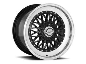 Shift Clutch 17x8.5 5x100/5x114.3 +30mm Gloss Black Wheel Rim