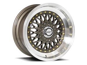 Shift Clutch 17x8.5 5x108/5x112 +30mm Bronze Wheel Rim