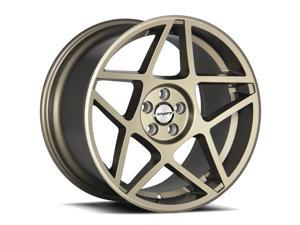 Shift Axle 18x9.5 5x100 +40mm Flat Bronze Wheel Rim