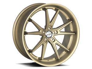 Shift Carrera 22x9 5x114.3 +38mm Matte Bronze Wheel Rim