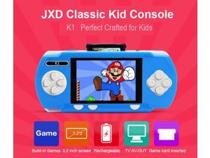 JXD New Arrival 3.2 Inch Kid Classic Game Console Kid Rechargeable Battery Gamepad Wholesale Children Tablet K1