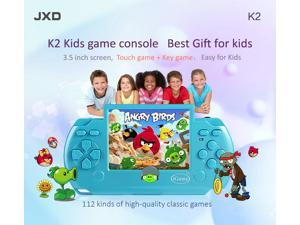 JXD K2 2015 New Arrival 3.5 Inch Kid Touch Game+Key Game Console Kid Gamepad High Quality Children Tablet