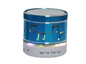 JXD LED Colorful flash wireless mini super bass bluetooth speaker