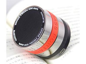 JXD Wireless portable mini camera lens bluetooth Speaker with fm radio