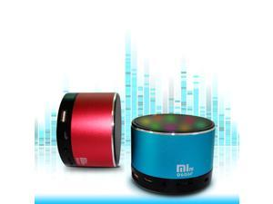 JXD LED Colorful flash wireless mini bluetooth speaker with FM function