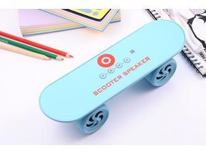 JXD scooter design phone computer bluetooth wireless speaker with USB TF card