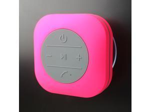 JXD Waterproof Sucker Bluetooth Speaker Square Waterproof Speaker