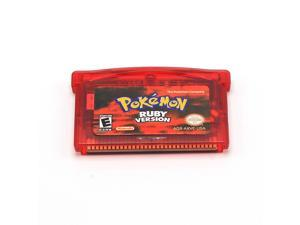Hot Sale 1pcs Pokemon GBA: Fire Red, Ruby, Sapphire, Leaf Green, Emerald Game Card for Nintendo GBA GBC GBSP