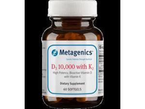 Metagenics D3 10,000 with K2 60 soft gels