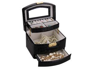 Promotion Jewelry Box Case Watch Display Organizer Gift Casket Faux Leather ZG096