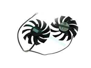 New For MSI GTX 560 570 580 R6770 R6870 PLD08010S12HH Video Card Dual CPU Fan + Thermal grease Series Laptop Notebook Accessories Replacement Parts Wholesale