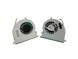 NEW For MSI GE40 MS-1492 MS-1491 X460 X460DX X460DX-216US X460DX-291US CPU-VGA CPU Cooling Fan E33-0800261-MC2 + Thermal grease Series Laptop Notebook Accessories Replacement Parts Wholesale