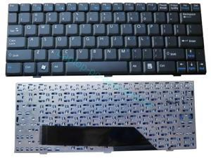 New For MSI Wind U90 U100 U110 U120 N011 U115 U123 U123H U123T U101C U101B U100X US Keyboard Teclado Series Laptop Notebook Accessories Replacement Parts Wholesale QWERTY