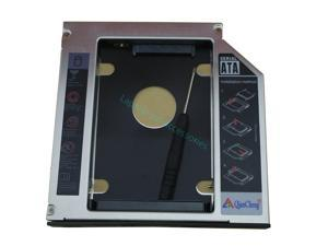 NEW 2nd SATA Hard Drive Caddy Adapter For Dell Studio Dell N7110 N5110 N7010 Replacement Parts Wholesale