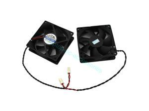 New For Jamicon JF0825S2H JF0625B2SAPR Server Square Fan DC 24V 0.15A 80X80X25mm 2wire 2pin Server Square Fan/Rotary DC Fan Brushless Wholesale + Thermal grease