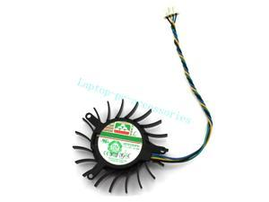 NEW For 50mm NVIDIA Geforce 8600GTS Video Card Fan + Thermal grease 4Pin B Accessories DC12V 0.19A