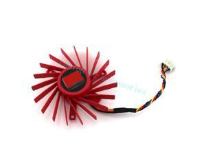 New 60mm Rotary DC Fan Brushless/Video Card Fan + Thermal grease For ATI Radeon HD 3850 4850 PLD06010B12HH Accessories