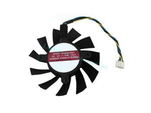 NEW 75mm VGA Video Card fan + Thermal grease For GTX 550 Ti GTX 560 DASA0815R2U Accessories