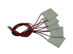New 10Pcs TEC1-12706 Thermoelectric Cooler Heat Sink Cooling Peltier CPU Plate Module 6A 12V 72W 40mm x 40mm