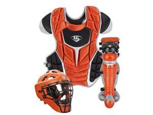 Louisville Slugger PGS714-STA Burnt Orange / Black Adult Series 7 Catchers Set
