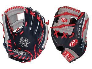 "Rawlings PRO204NGI 11.5"" Heart of The Hide Navy / Red / Grey Baseball Glove New"