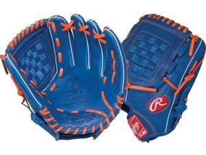 Rawlings G115PTR 11.5 Gold Glove Gamer XLE Royal/Orange Pro Taper Baseball Glove