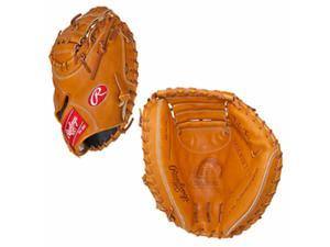 "Rawlings PROSCM33RT 33"" Pro Preferred Series Catcher's Mitt 2-Piece Closed Web"