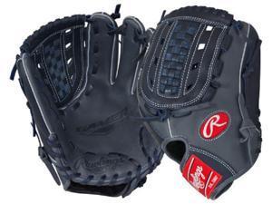 "Rawlings G175GN 11.75"" Gold Glove Gamer XLE Series Grey / Navy Baseball Glove"