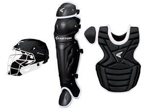 Easton M7 Fastpitch Series Black / White Youth Catcher's Set Age 9-12 New!