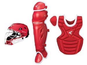 Easton M7 Fastpitch Series Red / White Youth Catcher's Set Age 9-12 New!