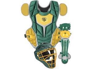 Louisville PGS514-STI Dark Green / Vegas Gold Intermediate Series 5 Catchers Set