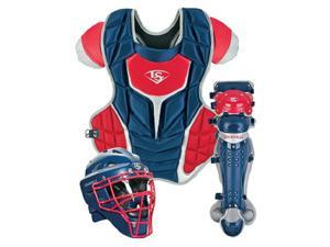 Louisville Slugger PGFPAS6 Navy / Red Series 7 Fastpitch Adult Catchers Set