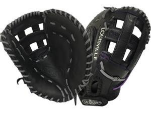 "2016 Louisville Slugger FGXNBK6-FBM1 13"" Xeno Black Fastpitch First Base Mitt"