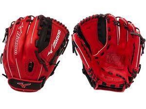 "Mizuno GMVP1200PSEF4 12"" Red / Black MVP Prime SE Fastpitch Softball Glove New!"