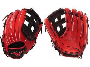"Mizuno GMVP1300PSES4 13"" Red / Black MVP Prime SE Slowpitch Softball Glove New!"