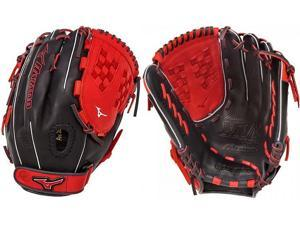 "Mizuno GMVP1250PSEF4 12.5"" Navy / Red MVP Prime SE Fastpitch Softball Glove"