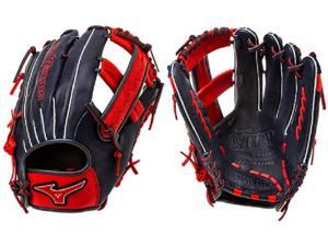"Mizuno GMVP1250PSES4 12.5"" Navy / Red MVP Prime SE Softball Glove New!"