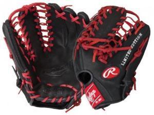 """Rawlings G12BSLE 12"""" Gold Glove Gamer XLE Series Baseball Glove Black / Red New"""
