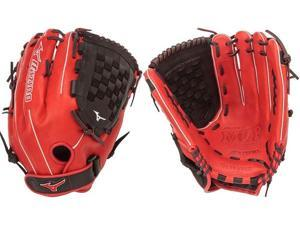"Mizuno GMVP1400PSES4 14"" Red / Black MVP Prime SE Slowpitch Softball Glove New!"