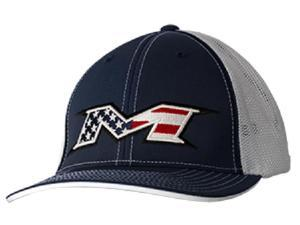 Miken Patriot Red / White / Blue Trucker Hat Large / X-Large Fits 7 3/8 - 8 New!