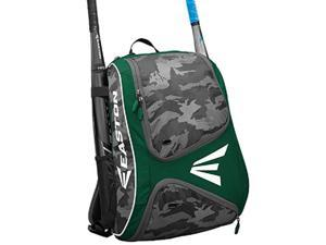 Easton E110BP Green / Camo Bat Pack Backpack Equipment Bag Baseball / Softball